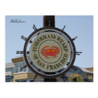 Hello from... Fishermans Wharf Postcard