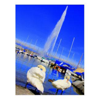 Hello from Geneva Postcard