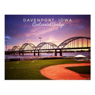 Hello From Iowa Postcard
