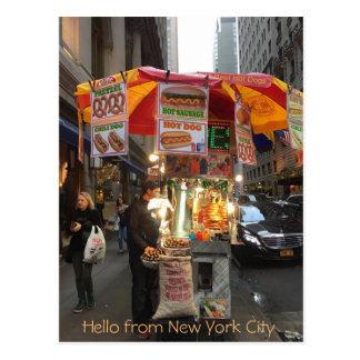 Hello from New York City Postcard