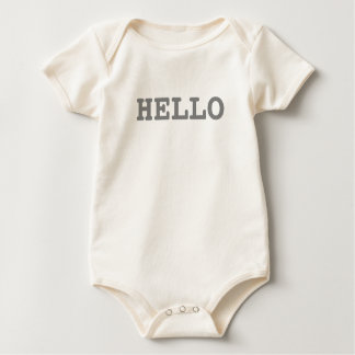 Hello | Funny Rompers