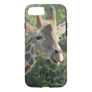 Hello Giraffe iPhone 7 Case