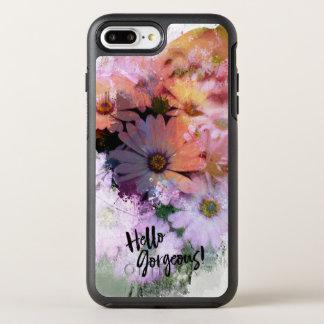 Hello Gorgeous Abstract Daisies OtterBox Symmetry iPhone 8 Plus/7 Plus Case