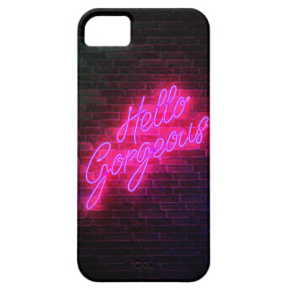Hello Gorgeous - Neon SIgn Case For The iPhone 5