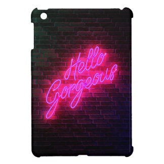 Hello Gorgeous - Neon SIgn iPad Mini Case