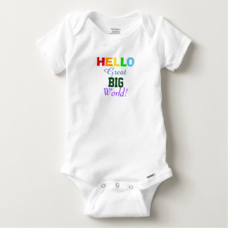 Hello Great Big World Rainbow Infant Shirt