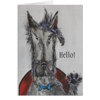 Hello! Greeting Card