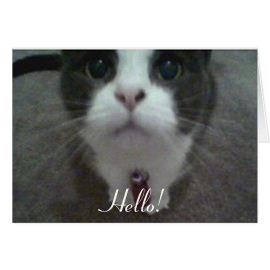 """Hello!"" Greeting Card"