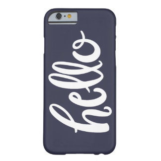 Hello Hand Lettered Phone Case