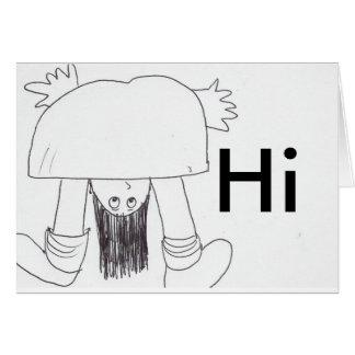 Hello, Hi Card