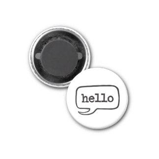Hello (Hi Hello Greetings) Magnet