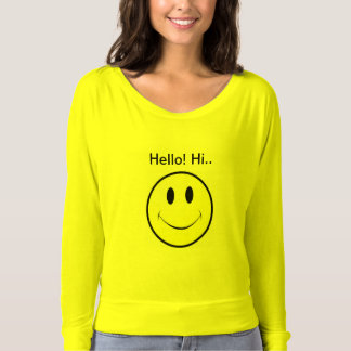 Hello! Hi.. T-shirt