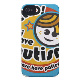 HELLO I HAVE AUTISM - AWARENESS Case-Mate iPhone 4 CASE