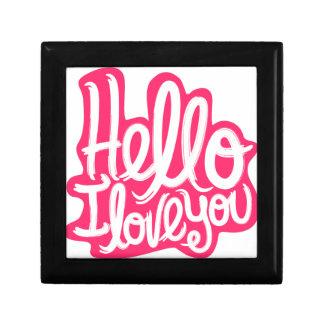 Hello I love you Gift Box