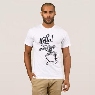 Hello iam mockup Tshirt