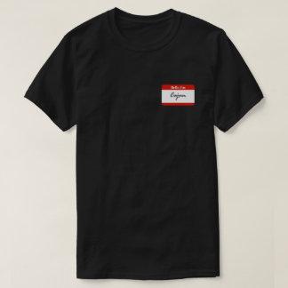 Hello, I'm Cajun Name Tag Shirt