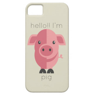 Hello Im Pig iPhone 5 Covers