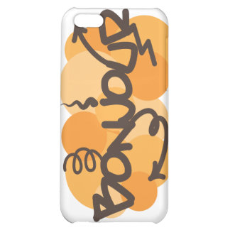 Hello in French Bonjour graffiti Cover For iPhone 5C
