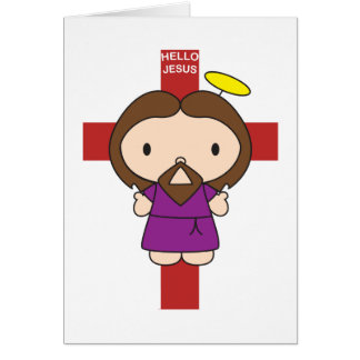 Hello Jesus Card