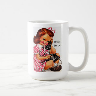 Hello Jesus Classic White Mug