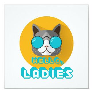 Hello Ladies Card
