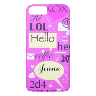 Hello, LOL, HI, personalised and customised case