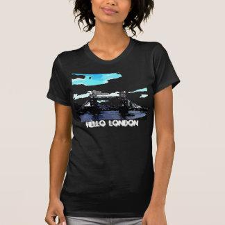 Hello London Tower Bridge. T-Shirt