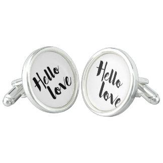 Hello Love Cufflinks
