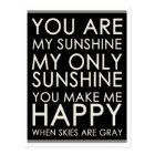 Hello, Love Motivational Quote Blank Postcard