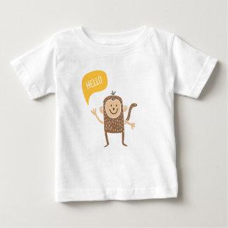 Hello monkey! baby T-Shirt