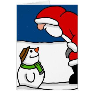 Hello Mr Santa Card