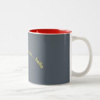 """""""hello"""" mug"""