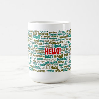 Hello (Multi Language) Mug