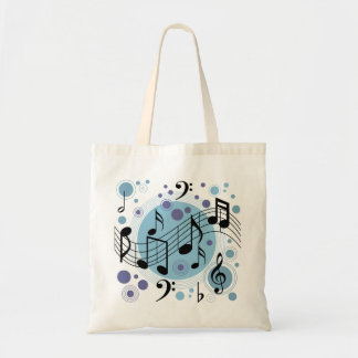 hello music budget tote bag