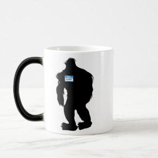 Hello-My Name Is BigFoot Magic Mug