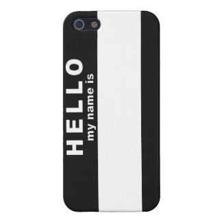 Hello My Name Is Case For iPhone 5/5S