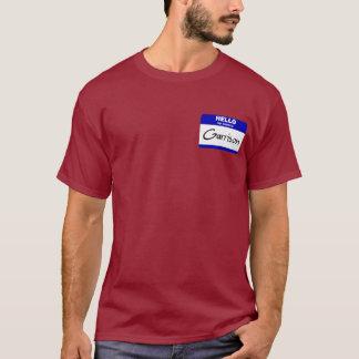 Hello My Name Is Garrison (Blue) T-Shirt