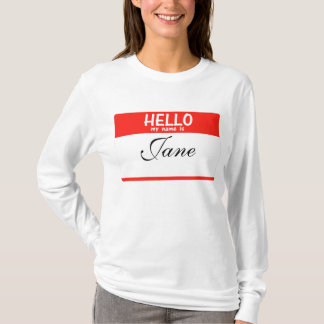 Hello My Name Is ______ Hoodie