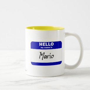 Name Mario Coffee & Travel Mugs   Zazzle CA