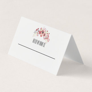 Hello! My name is: [Tent Fold Card] Card