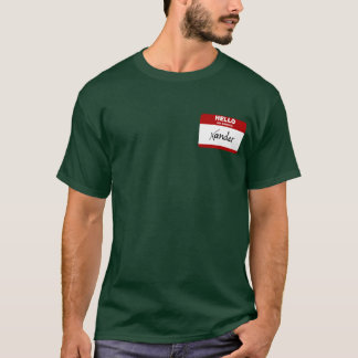 Hello My Name Is Xander (Red) T-Shirt