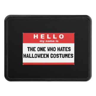 Hello Name Hate Halloween Costumes Trailer Hitch Cover