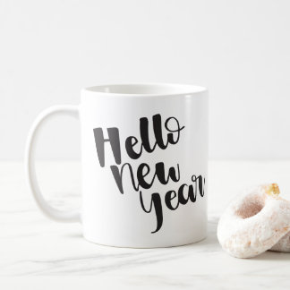 Hello New Year   Mug