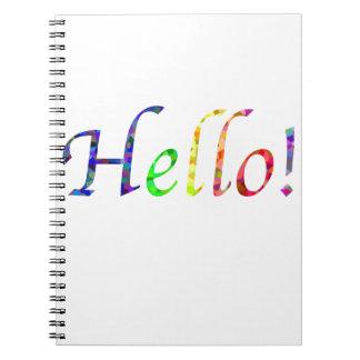 hello! notebooks