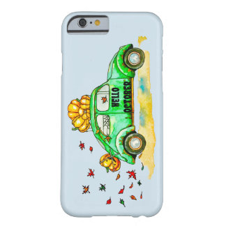 hello october barely there iPhone 6 case