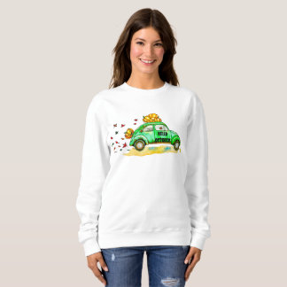 hello october sweatshirt