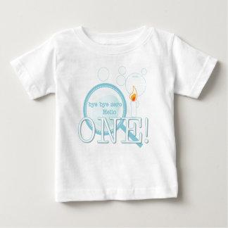 Hello One First Birthday Baby T-Shirt