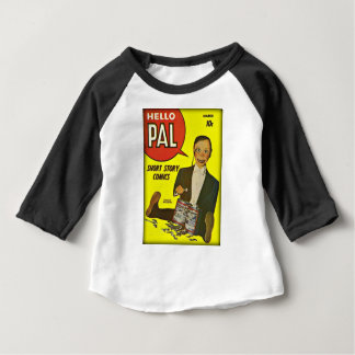 Hello Pal #2 Charlie McCarthy Cover Art Baby T-Shirt