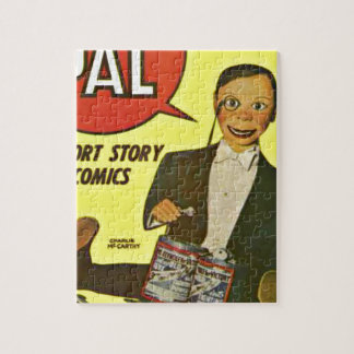 Hello Pal #2 Charlie McCarthy Cover Art Jigsaw Puzzle