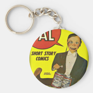 Hello Pal #2 Charlie McCarthy Cover Art Keychain